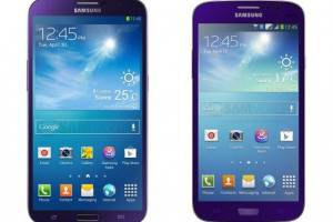 Galaxy Devices Get a New Paint Job, Purple is the New Black for S4, Mega 5.7 and Mega 6.3