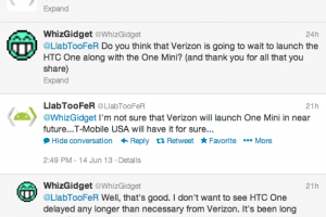 T-Mobile Launching the HTC One Mini Soon?