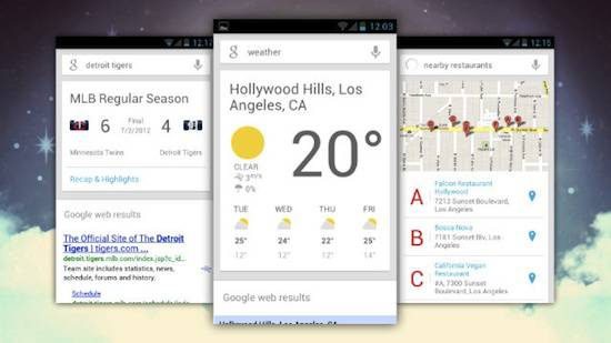 google now graphic