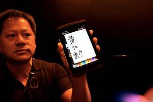 Nvidia CEO Shows Off Pressure Sensitive Stylus Input With Tegra 4