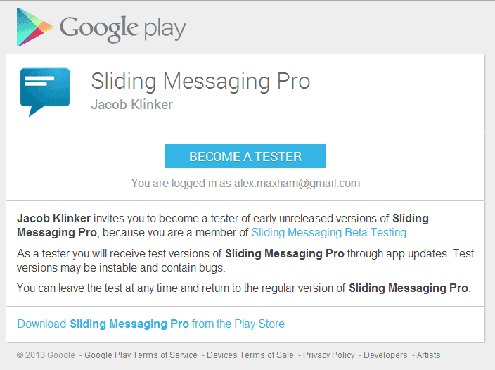 sliding-messenger