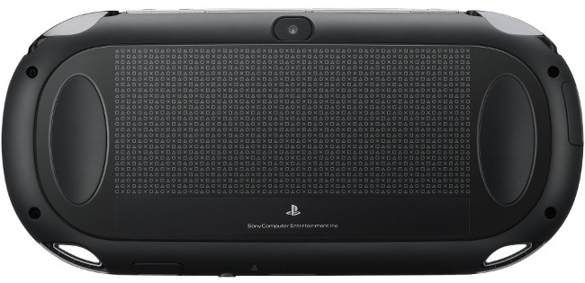 PS Vita Rear Touch