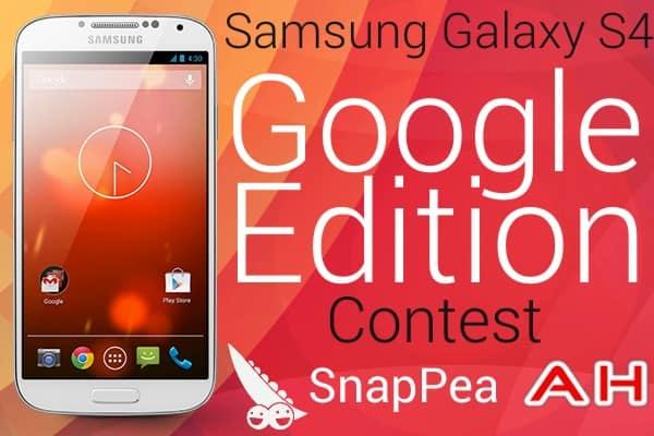 SnapPea Galaxy S4 Google Edition Contest 2