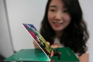 LG Unveil The World's Thinnest Full HD Display; Presumably for Thin Phones