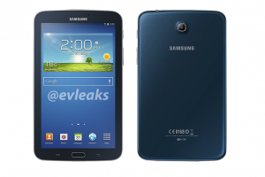 Galaxy Tab 3.0 Seems Rather Blue in Latest Leak