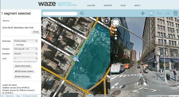 Google in Waze