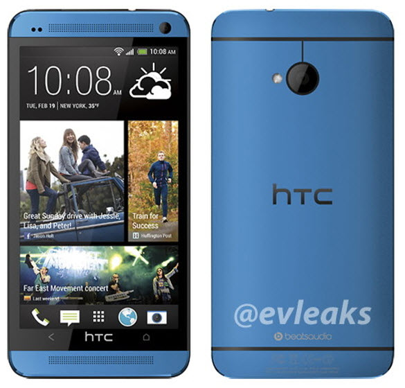 HTC One Blue @evleaks