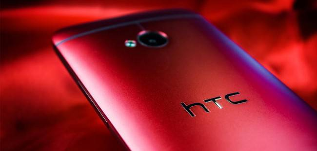 HTC One Red Red