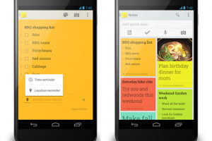 Google Keep Getting Google Drive Integration Soon, Includes In-App Video Playback