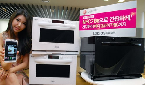 LG DIOS NFC Oven
