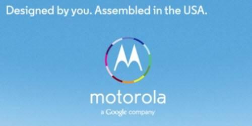 Moto X Assembled in USA
