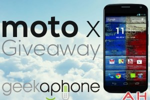 Win a Motorola Moto X from Android Headlines and Geekaphone!