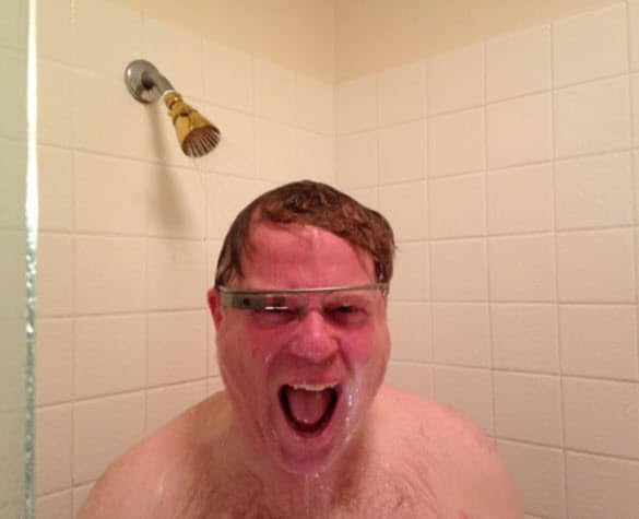 Robert Scoble in Shower