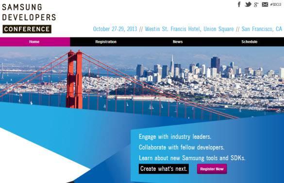 Samsung Developers Registration