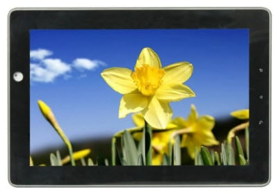Tablet Front