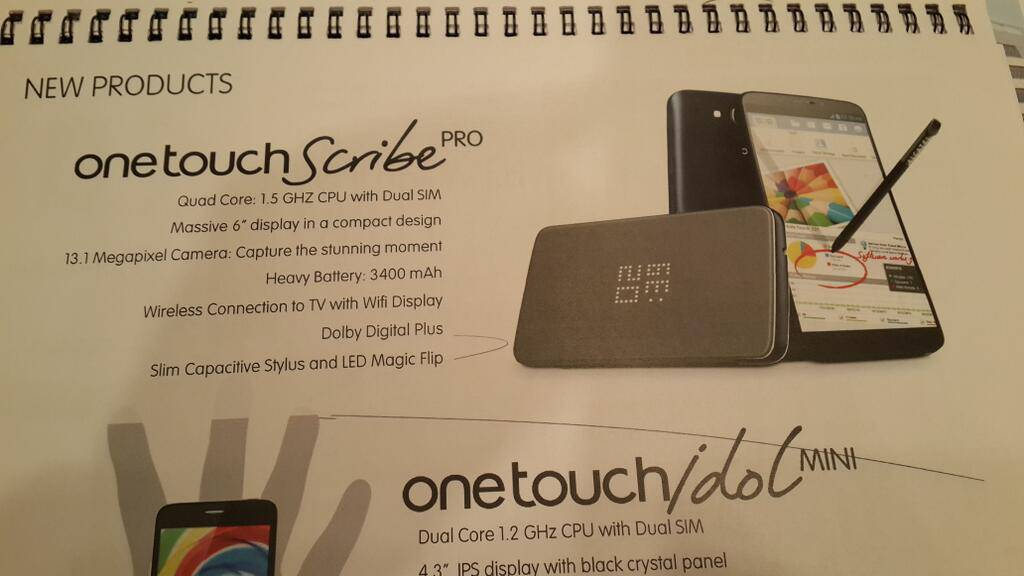 alcatel-one-touch-scribe-pro