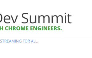 Google Holding a Chrome Dev Summit November 20-21 in Mountain View