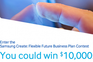 Have Any Ideas for Samsung's Flexible Displays? You Could Win $10,000