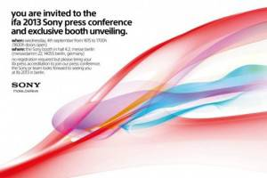 Sony's IFA Conference Confirmed for September 4th; The Same Day as Samsung's