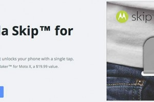 The New Motorola Skip Is A $20 NFC Clip For Your Moto X that Unlocks Your Device