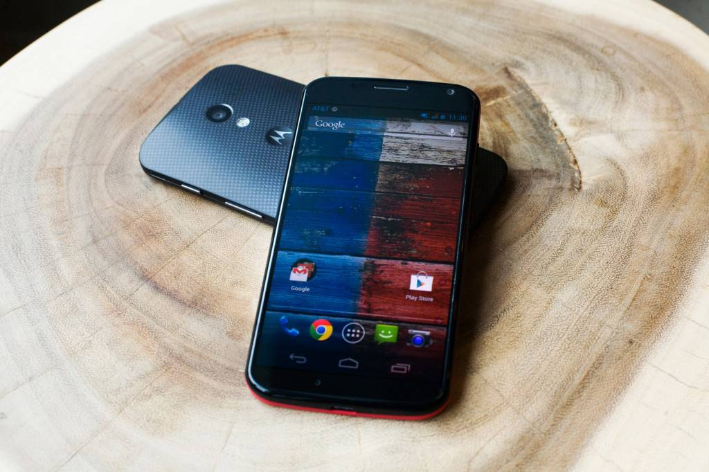 The Moto X is the first phone from Motorola under Google's wing and it doesn't run the latest version of Android