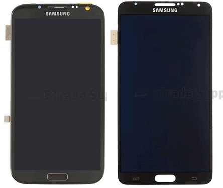 note 2 3 display frame compare