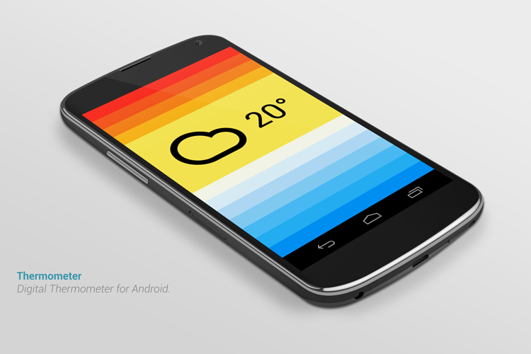App of the Week: Thermometer for Android