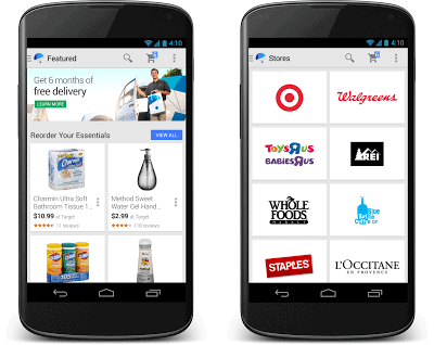 google shopping express phones