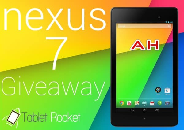 Android Nexus 7 Giveaway Tablet Rocket AH