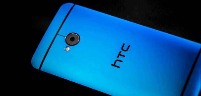 Blue HTC One 9