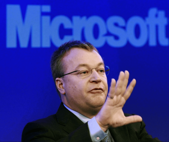 Elop and Microsoft