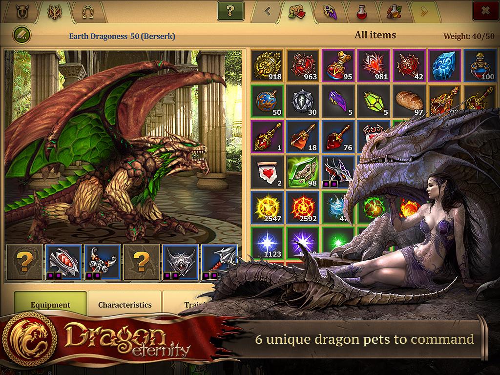 Dragon Eternity Wallpaper Dragon Eternity is Fantasy