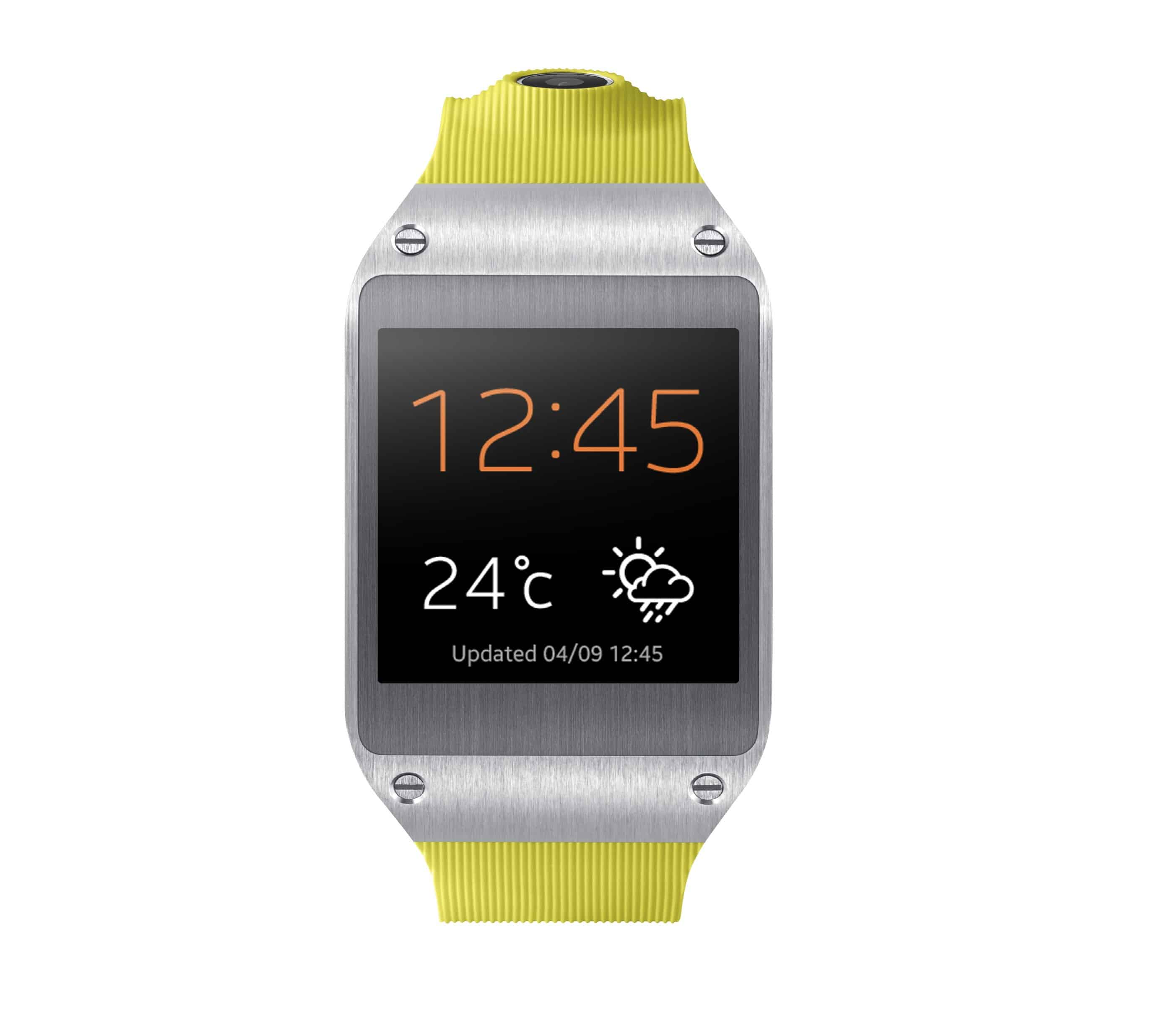 Galaxy Gear 001 Front Lime Green e1378316378839