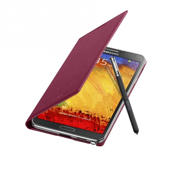 Galaxy-Note3-FlipCover_004_Open-Pen_Plum-Magenta-567x575