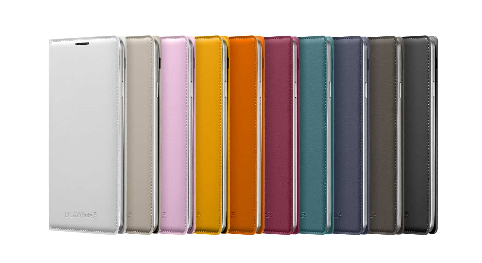 Galaxy Note3 FlipCover 005 Front set