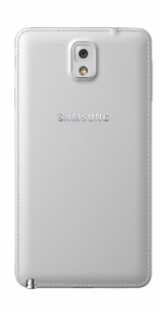 Galxy Note3 003 back Classic White