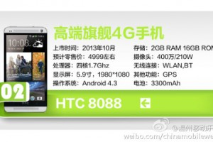 Possible Chinese HTC One Max Leak Points At A Potential October Release Date