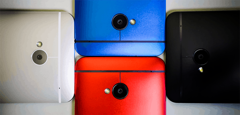 HTC One Multi colors