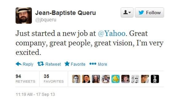 Jean-Baptiste Queru Tweet