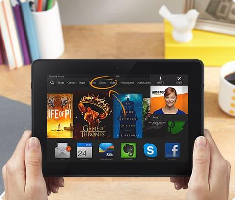 Kindle Fire HDX 7   number 1