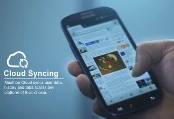 Maxthon Cloud Syncing