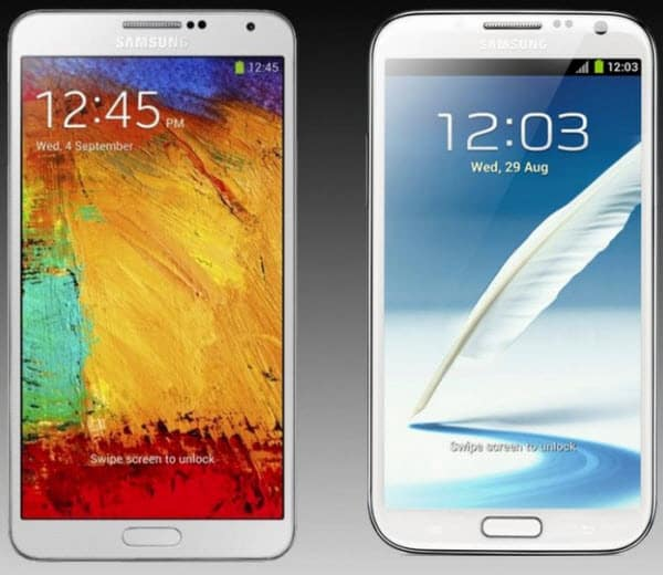 Note 2 vs Note Picture