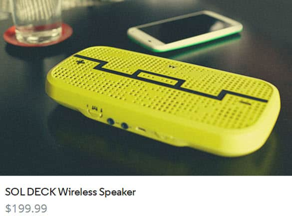 Sol Deck Wireless Speaker