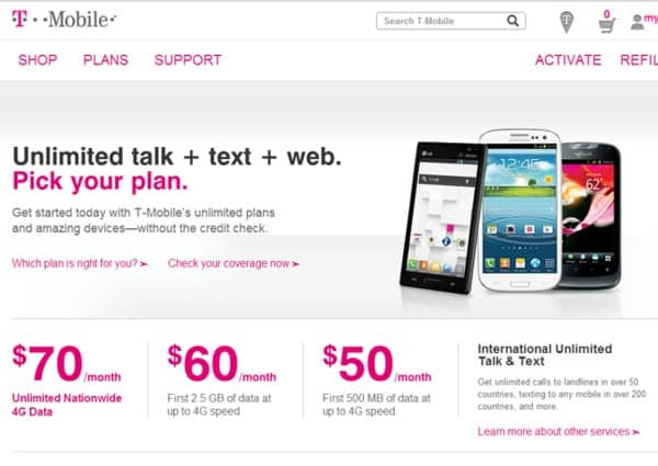 T-Mobile Prepaid Plans