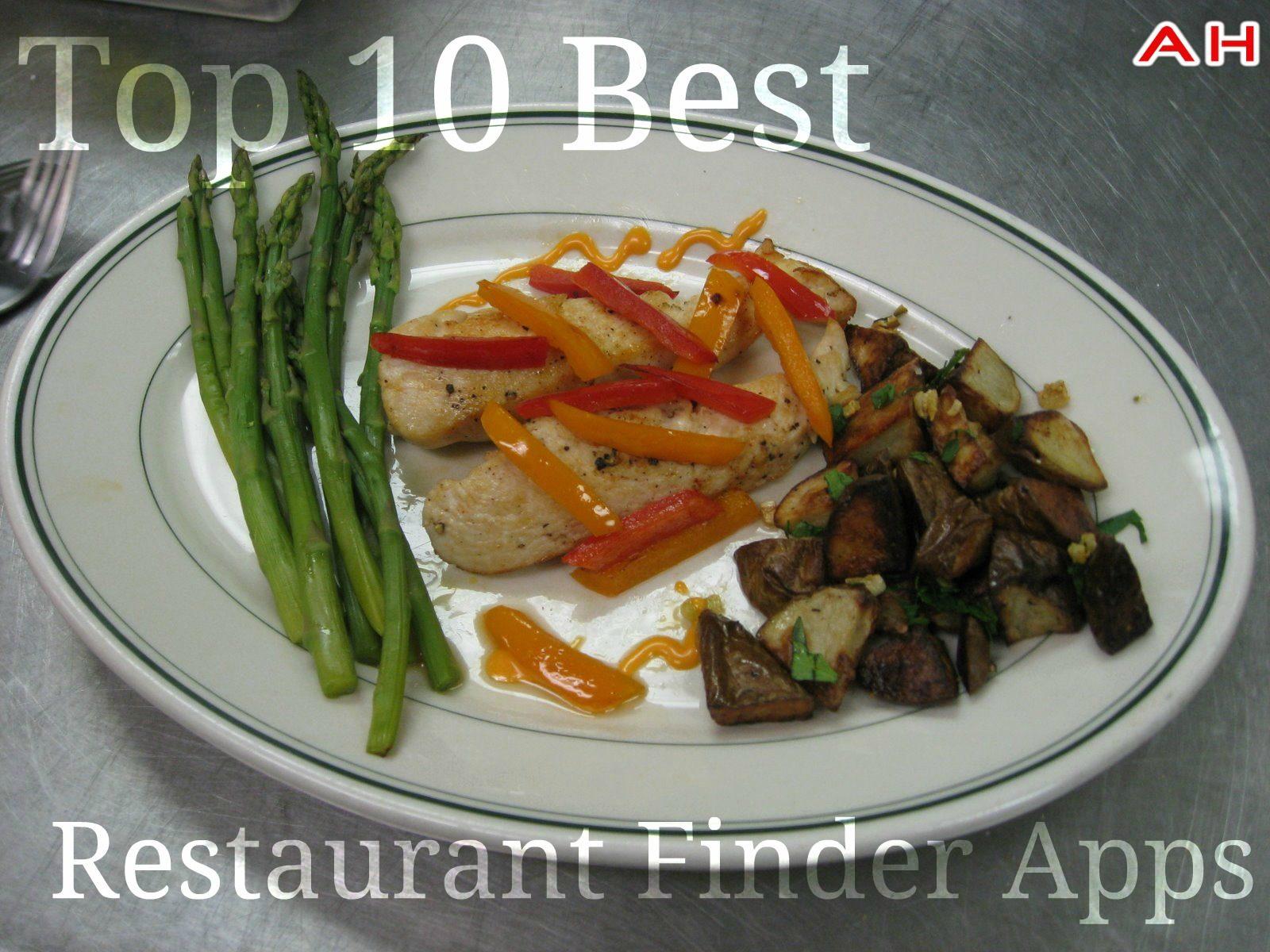 Top 10 Restaurante Finder Apps