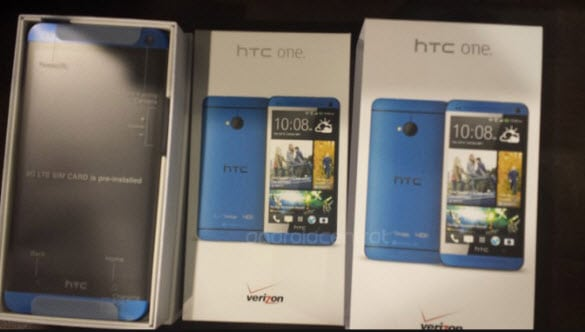 Verizon Blue HTC