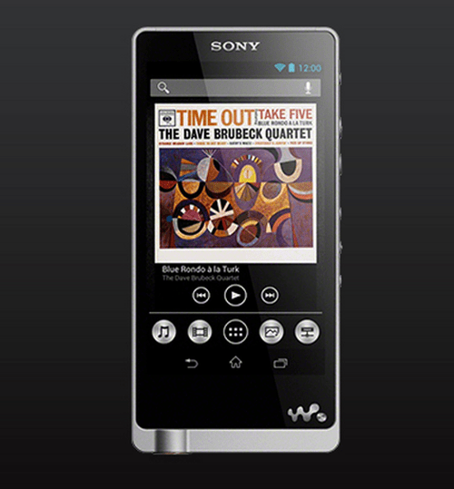 Walkman with Android