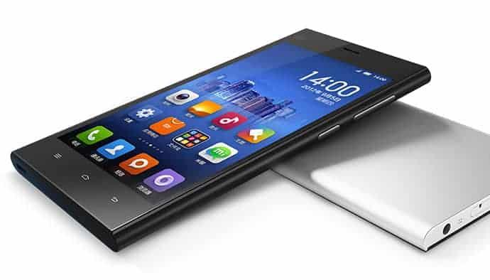 Çin Telefonu Xiaomi MI3 Lanse Edildi.