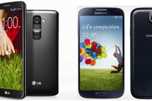 Android Phone Wars: LG G2 vs Samsung Galaxy S4