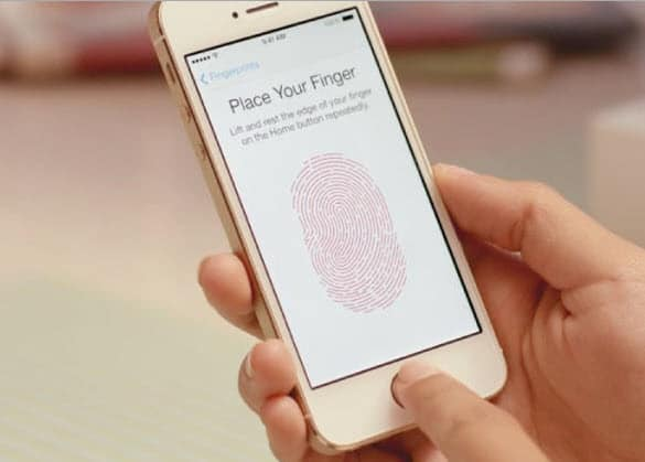 iPhone Fingerprint Scanne